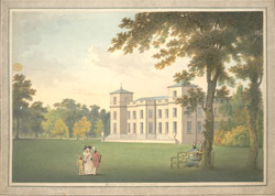 View of Scampston in Yorkshire, the Seat of Sir William St. Quintin, Bart
